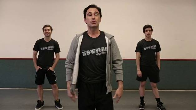 Seize The Day Dance Tutorial - Newsies The Musical