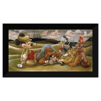 Image of Mickey Mouse and Friends ''On the 18th Green'' Giclée by Darren Wilson # 6