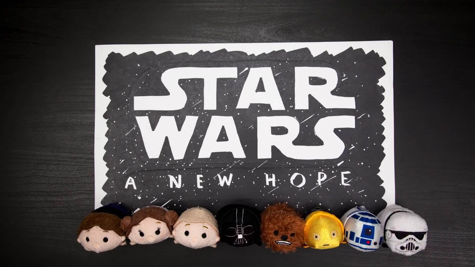 Star Wars: A New Hope as told by Tsum Tsum