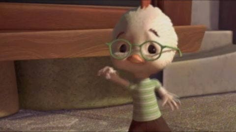 Dvd Trailer Chicken Little Disney Video