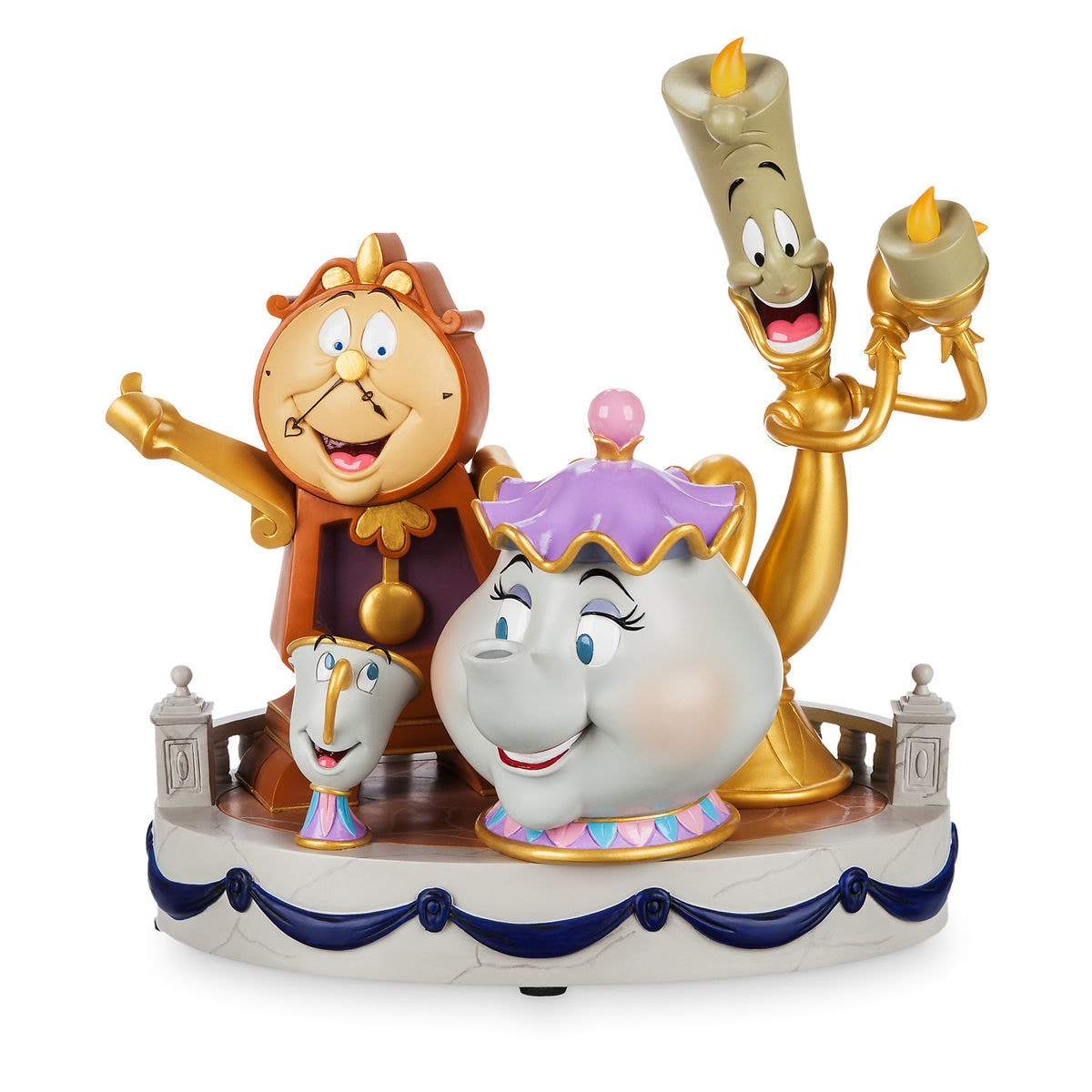 Product Image Of Beauty And The Beast Enchanted Objects Figurine By Derek