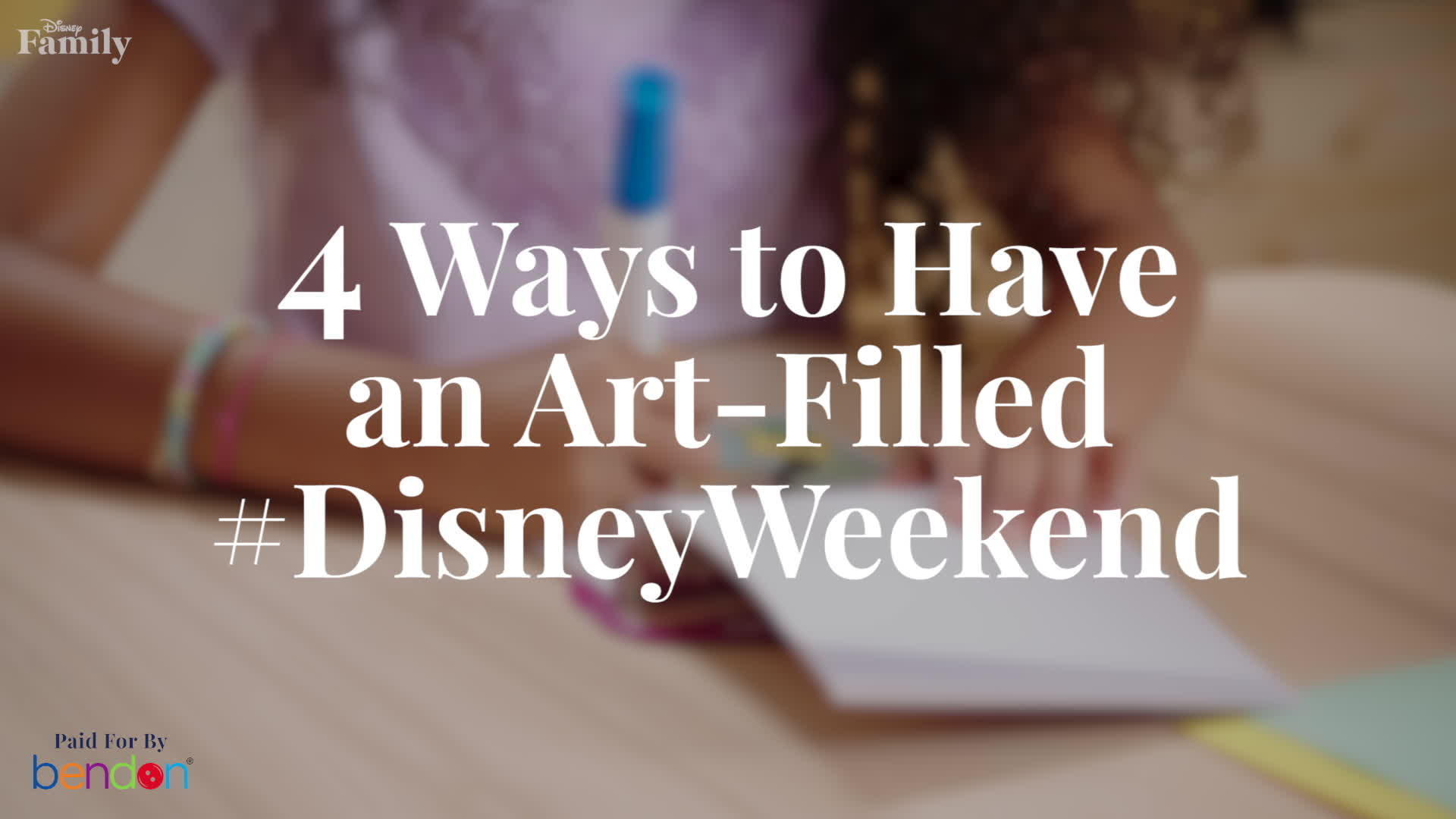 4 Ways to Have An Art-Filled #DisneyWeekend | Disney Family