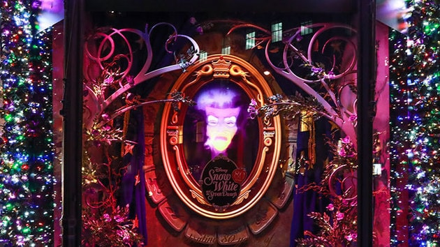 Saks Fifth Avenue Unveils Its Snow White Windows for the Holidays