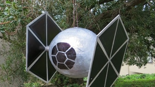 Star Wars Day Crafts: TIE Fighter Piñata