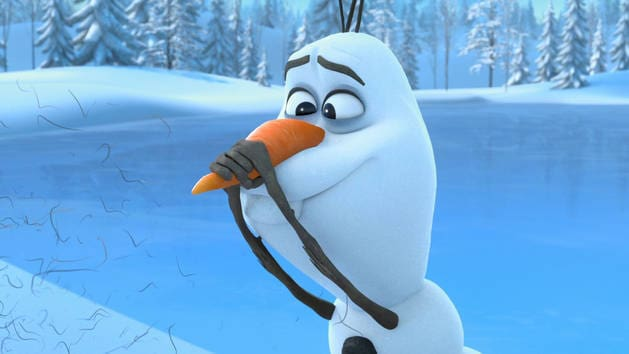 Staying Fit - Olaf-A-Lots