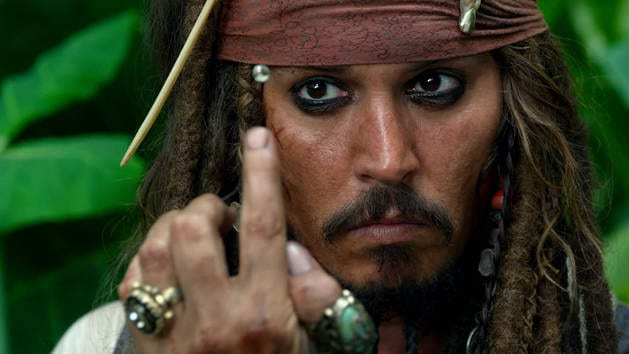Johnny Depp - Piratas del Caribe
