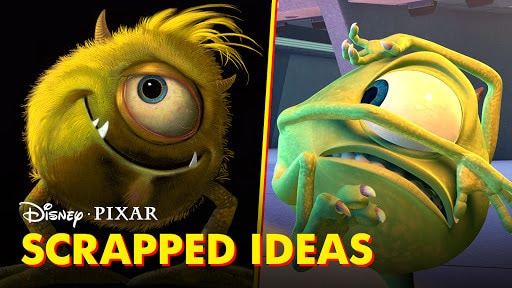 Pixar Did You Know? | Scrapped Film Ideas