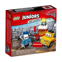 Guido and Luigi's Pit Stop Playset by LEGO Juniors - Cars 3