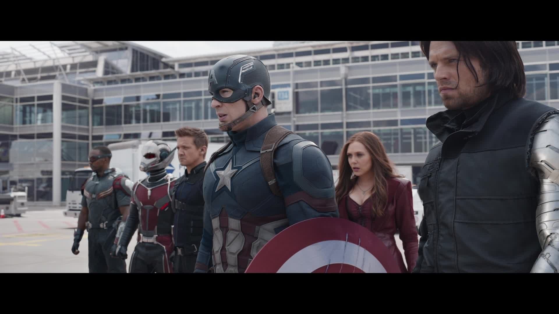 Captain America : Civil War - Rivaux