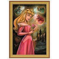 Image of ''Sleeping Beauty'' Giclée by Darren Wilson # 7