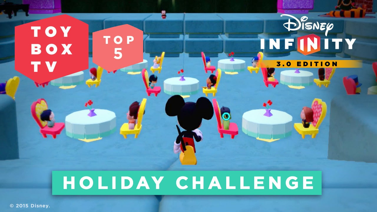 Holiday Challenge - Top 5 Toy Boxes - Disney Infinity Toy Box TV