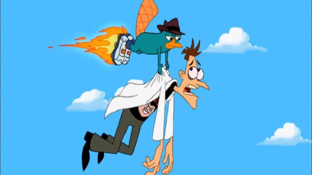 Phineas and Ferb - Perrysodes: No More Bunny Business