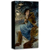 Image of ''Love Blooms in Winter'' Giclée on Canvas by Heather Theurer # 1