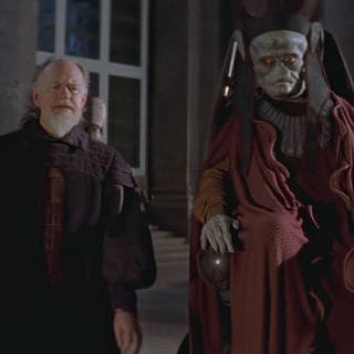 Nute Gunray and Sio Bibble