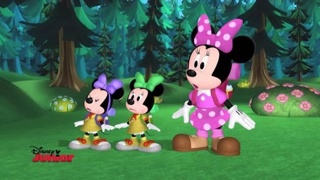 Minnie Toons - Le giovani esploratrici