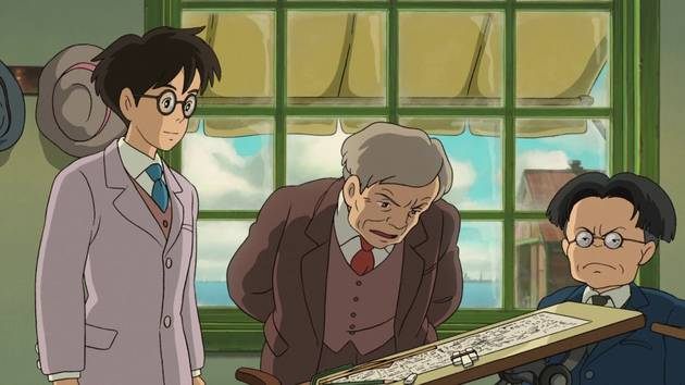 Jiro Meets Hattori - The Wind Rises Clip