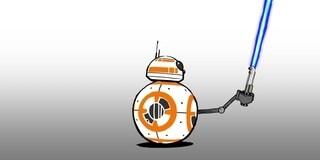 BB-8 und das Lichtschwert | Star Wars Blips
