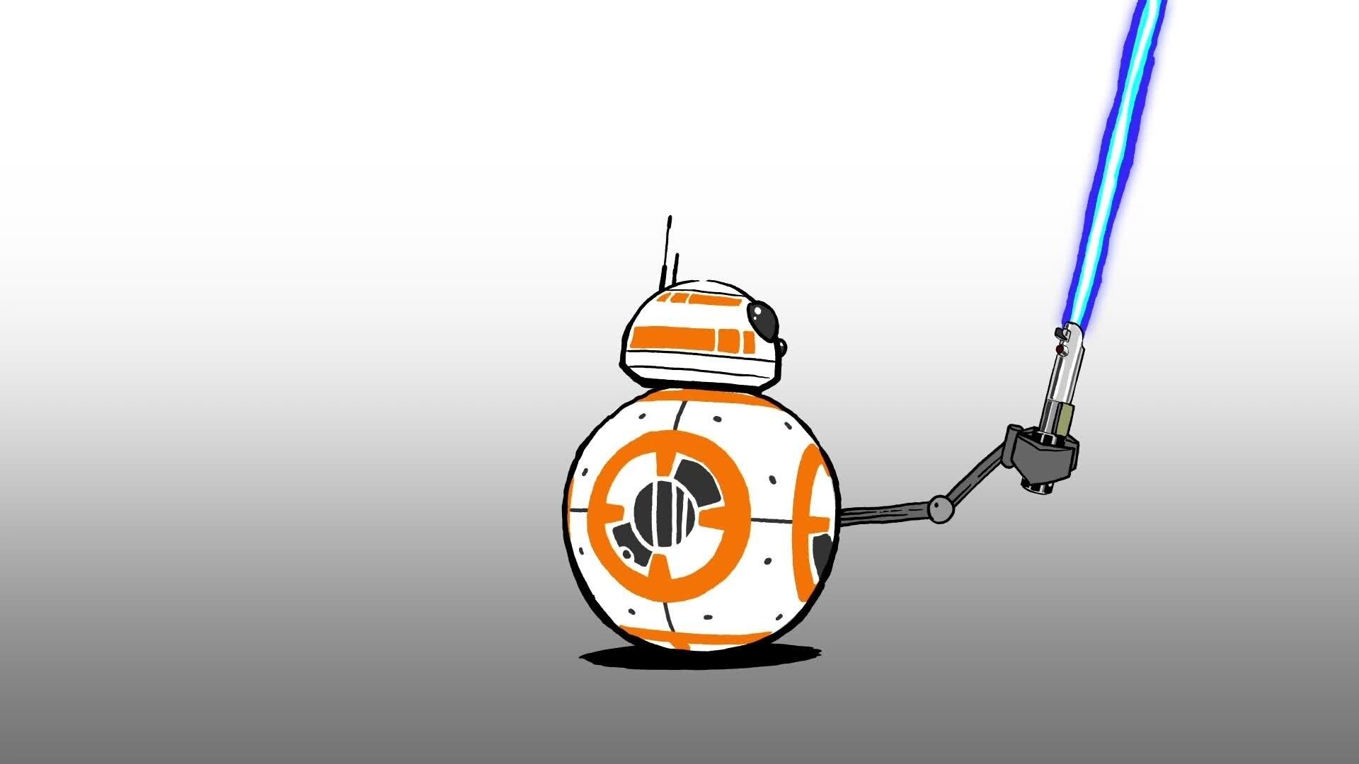 Star Wars : La Pause BB-8 - Le sabre-laser