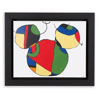 Mickey Mouse ''Expressionist Mickey II'' Framed Giclée on Canvas by Ethan Allen