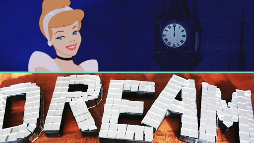 Cinderella Glass Slipper-Inspired Disco Letters | Disney Style