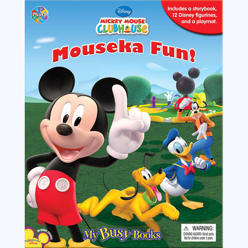 Mickey Mouse Clubhouse Mouseka Fun My Busy Book