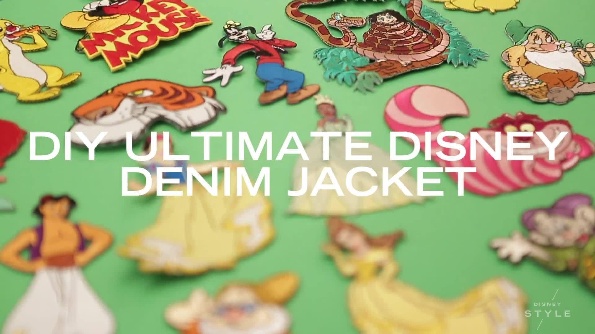 Ultimate Disney Patch Denim Jacket | Disney Style