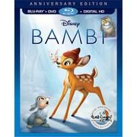 Bambi Anniversary Edition Blu-ray Combo Pack