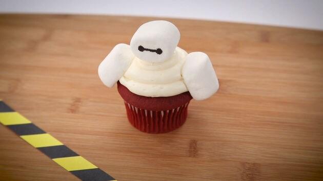 Baymax Cupcakes | Disney Eats
