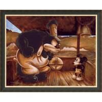 Mickey Mouse ''Mickey in a Bind'' Giclée by Darren Wilson