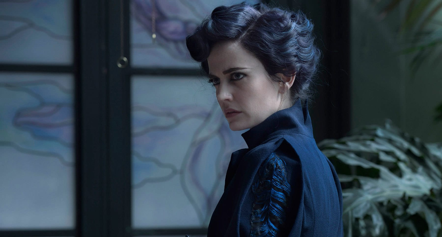 "Actor Eva Green as Miss Peregrine in the movie ""Miss Peregrine's Home for Peculiar Children"""