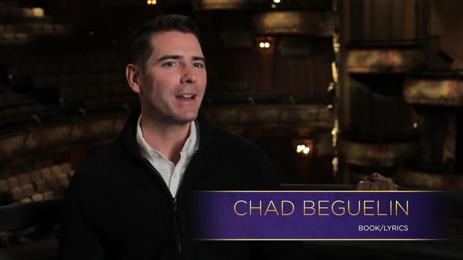 Interview with Chad Beguelin - Aladdin the Musical