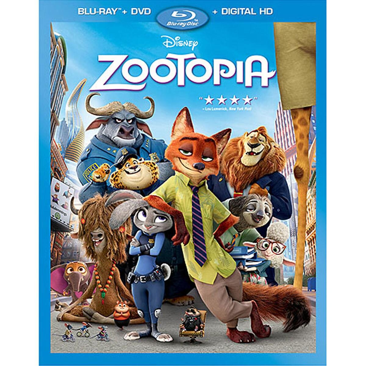 Zootopia Blu-ray Combo Pack   shopDisney
