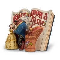 Image of Beauty and the Beast Story Book Figurine by Jim Shore # 8