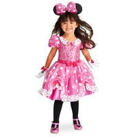 Image of Minnie Mouse Costume for Kids - Pink # 2