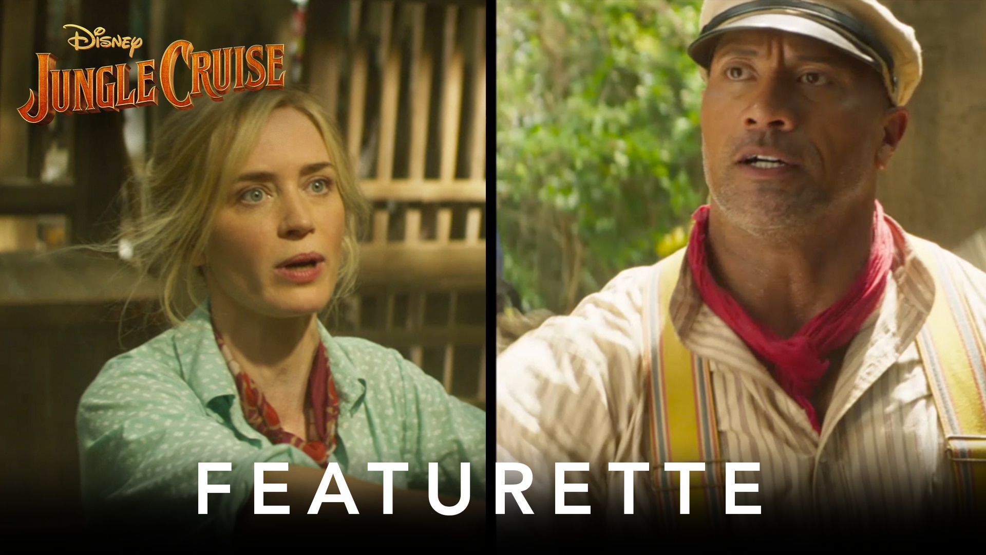 Action Side by Side | Disney's Jungle Cruise
