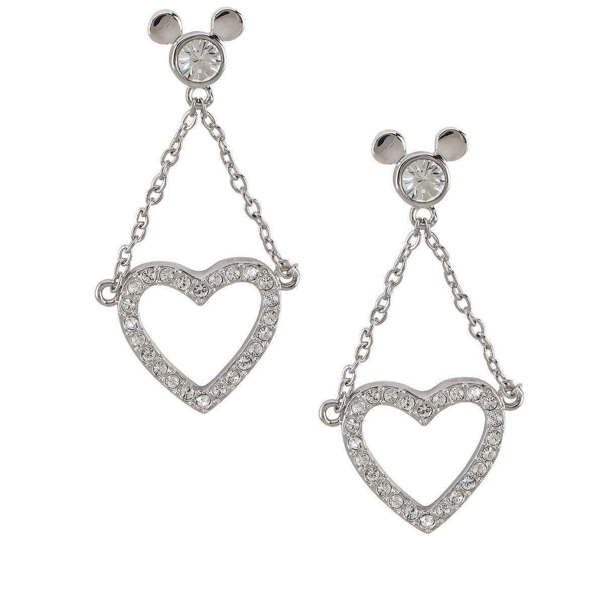 forever silver earrings heart sterling inspirational child love you and mom
