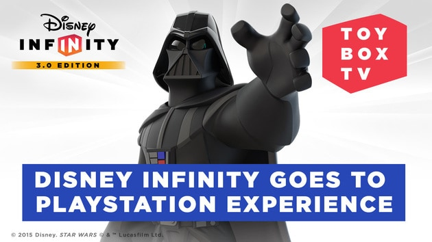 Disney Infinity Goes To PlayStation Experience - Disney Infinity Toy Box TV - Ep. 102