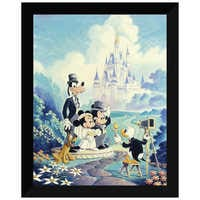 Image of ''Mickey and Minnie Wedding'' Giclée by Randy Souders # 6