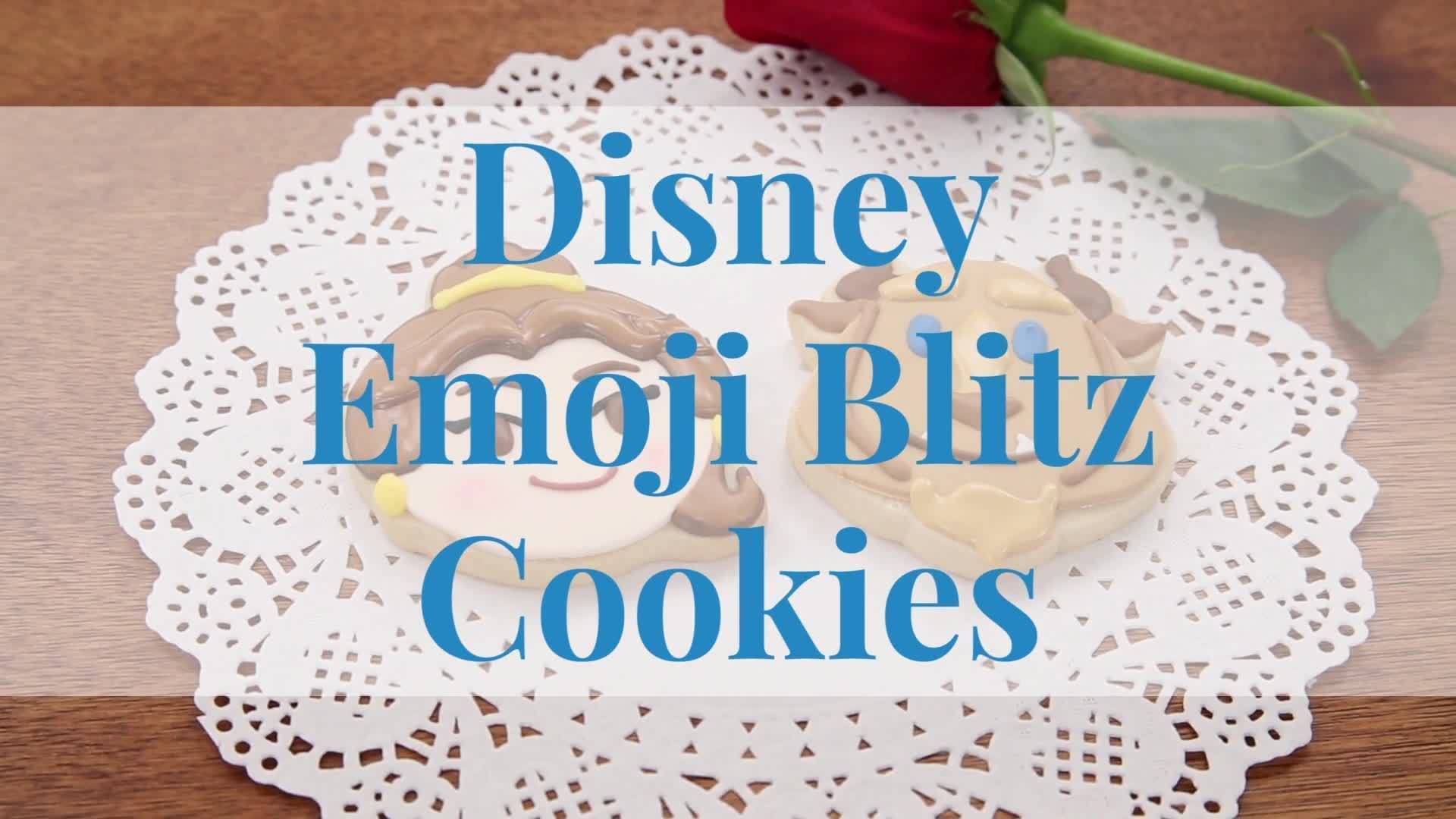 Beauty and the Beast Emoji Blitz | Dishes by Disney