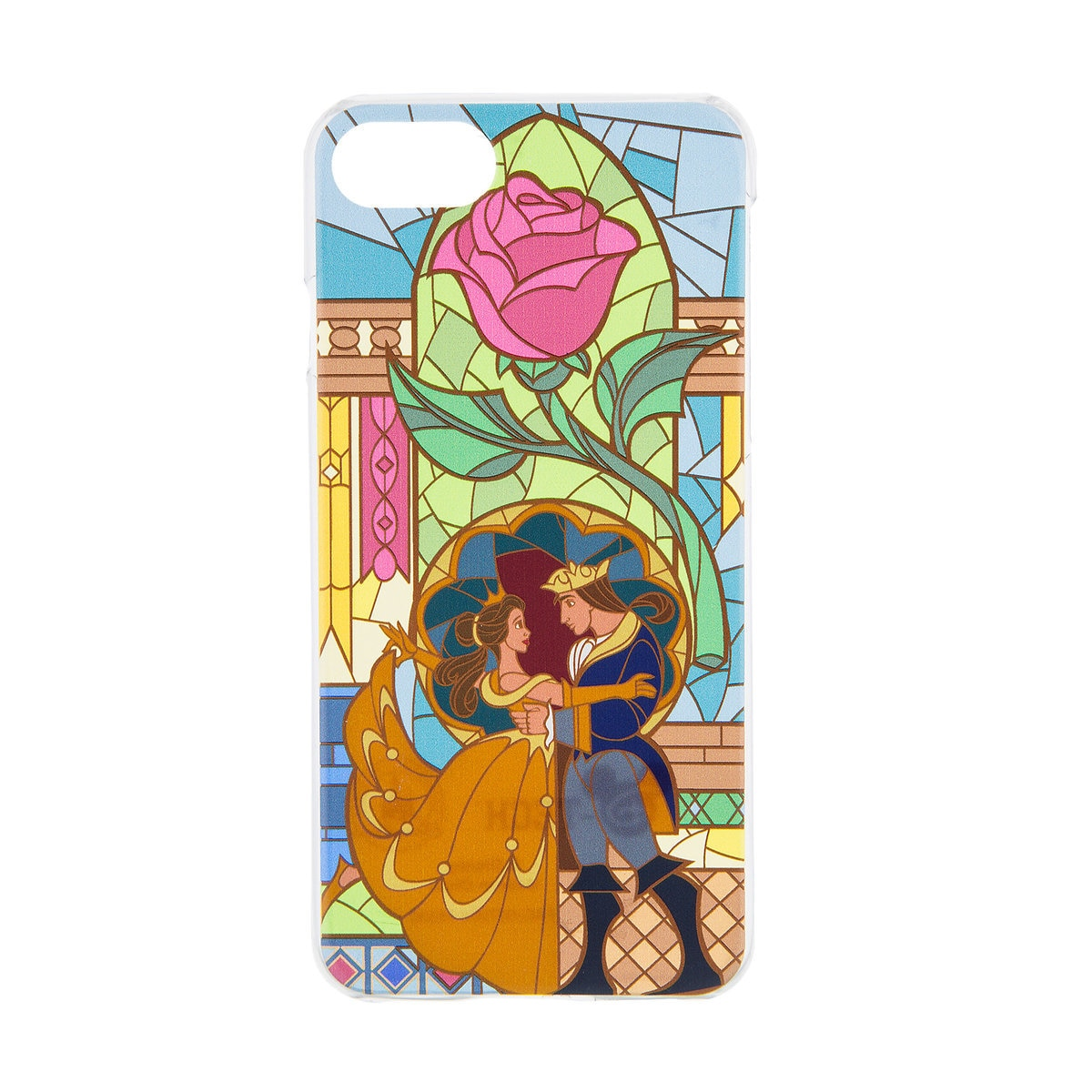 new product 94918 868c2 Beauty and the Beast Stained Glass iPhone 7/6/6S Case