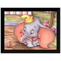 ''Dumbo at the Circus'' Giclée by Michelle St.Laurent