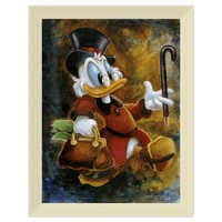 Image of Scrooge McDuck ''Scrooge Treasure'' Giclée by Darren Wilson # 9