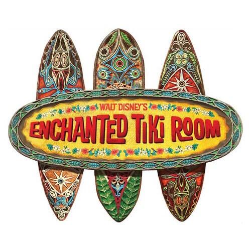 The Enchanted Tiki Room Wall Sign   shopDisney