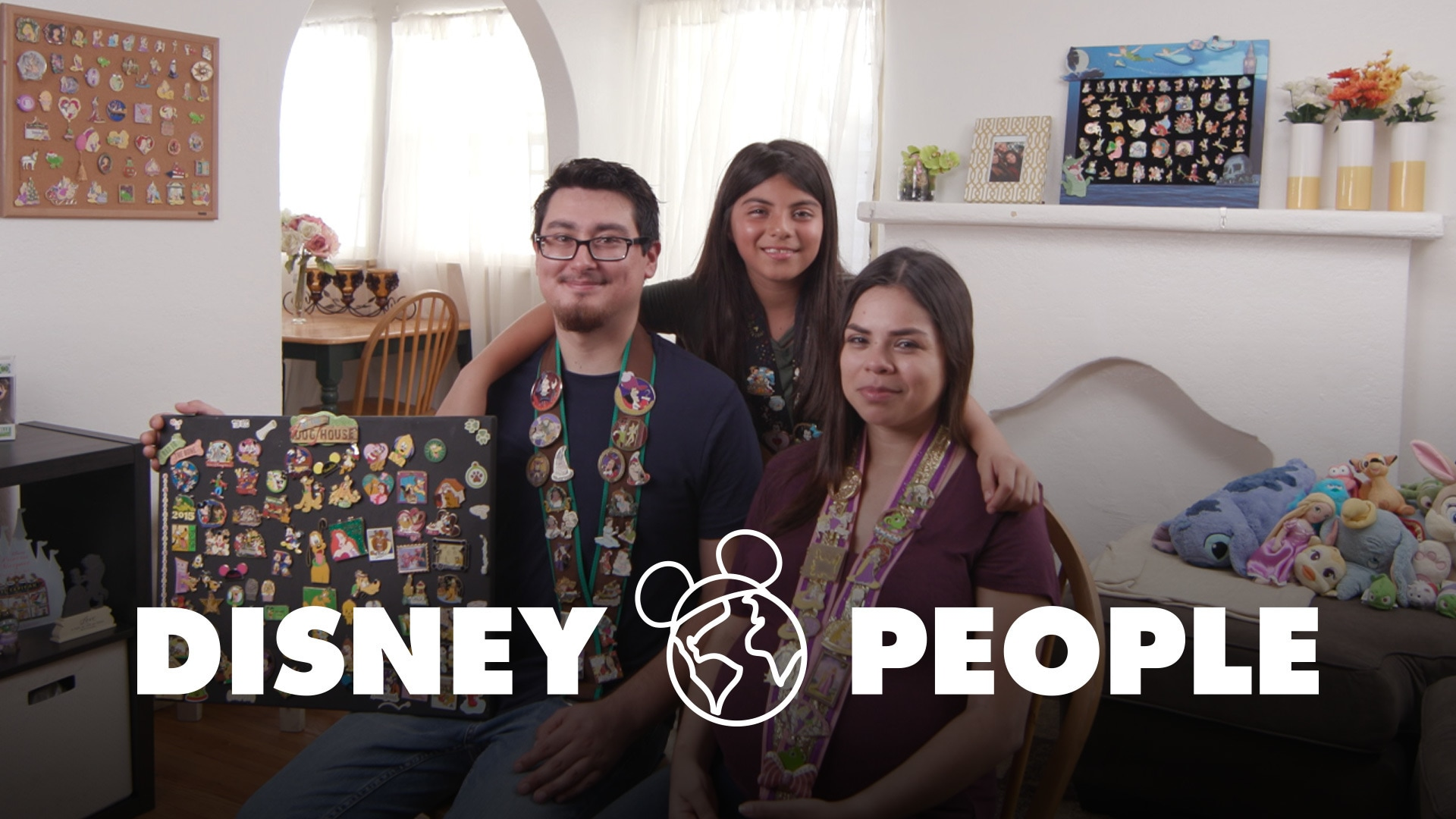 The Disney Pin Collecting Family | Disney People by Oh My Disney