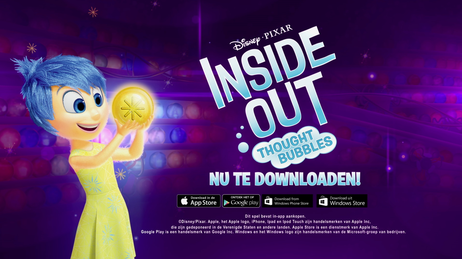 Inside Out: Thought Bubbles App Trailer