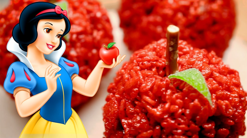 Snow White Red Apple Treats | Dishes by Disney