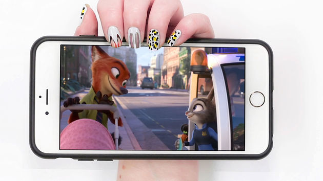 3 Zootopia Nails To Bring Out Your Spirit Animal