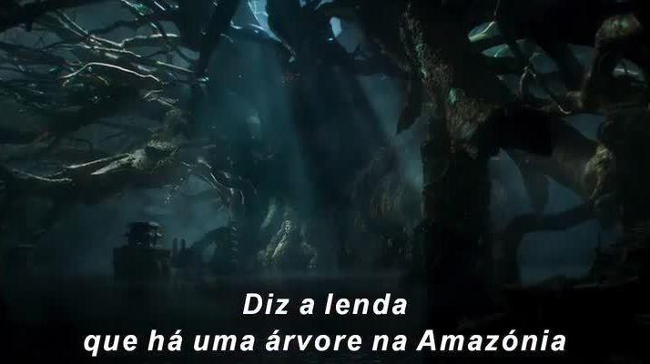 Teaser trailer 1 de Jungle Cruise - A Maldição Nos Confins Da Selva