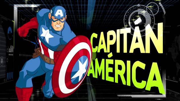Los Vengadores Unidos: HABILIDADES - CAPITAN AMÉRICA