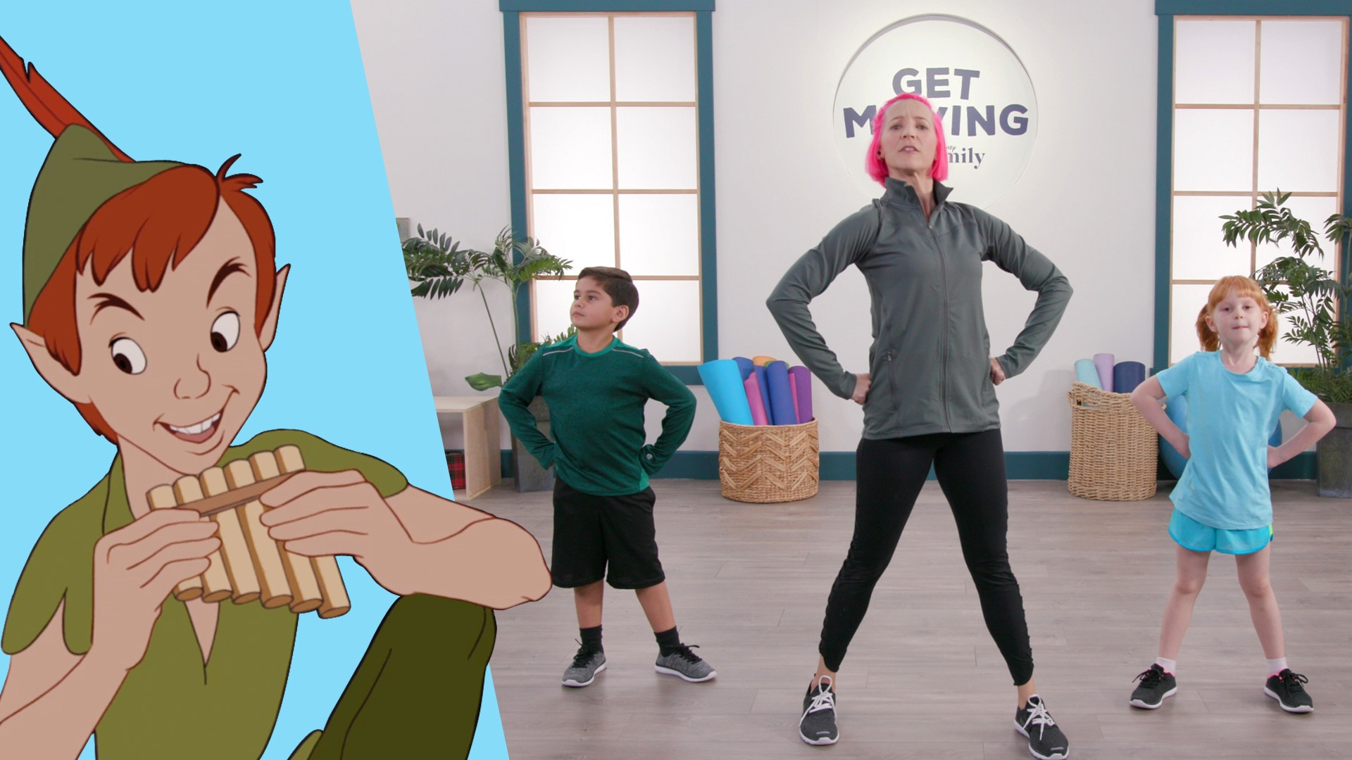 Peter Pan | Get Moving With Disney Family by Disney Family